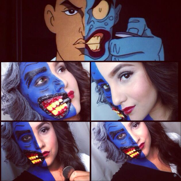 15 best Two face/ Mr freeze inspired images on Pinterest ...