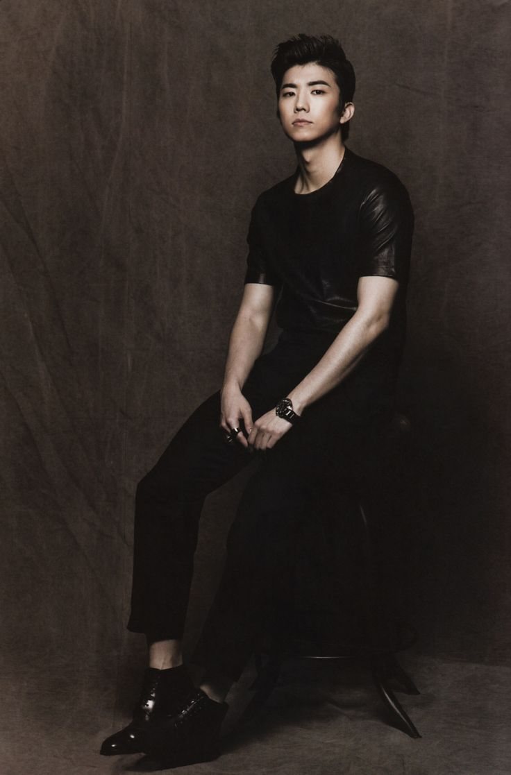 wooyoung - Men's Uno Magazine April Issue '12