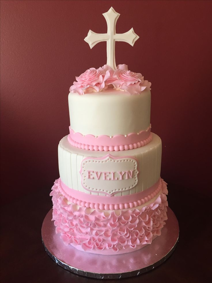 Cake Decorating Equipment Cardiff : 1000+ ideas about Cross Cakes on Pinterest Baptism Cakes ...