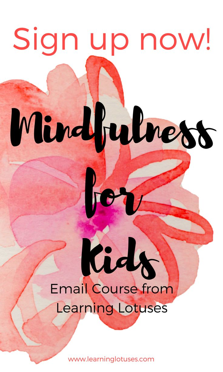 Free 5-day Mindfulness for Kids from Learning Lotuses