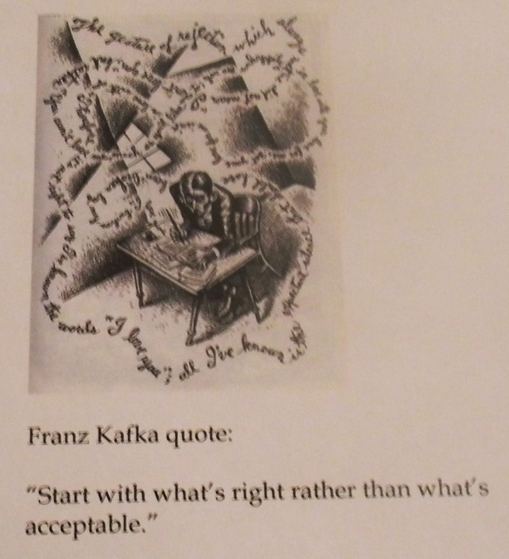 Kafka Quote Meaning Of Life: 16 Best Images About Kafka On Pinterest