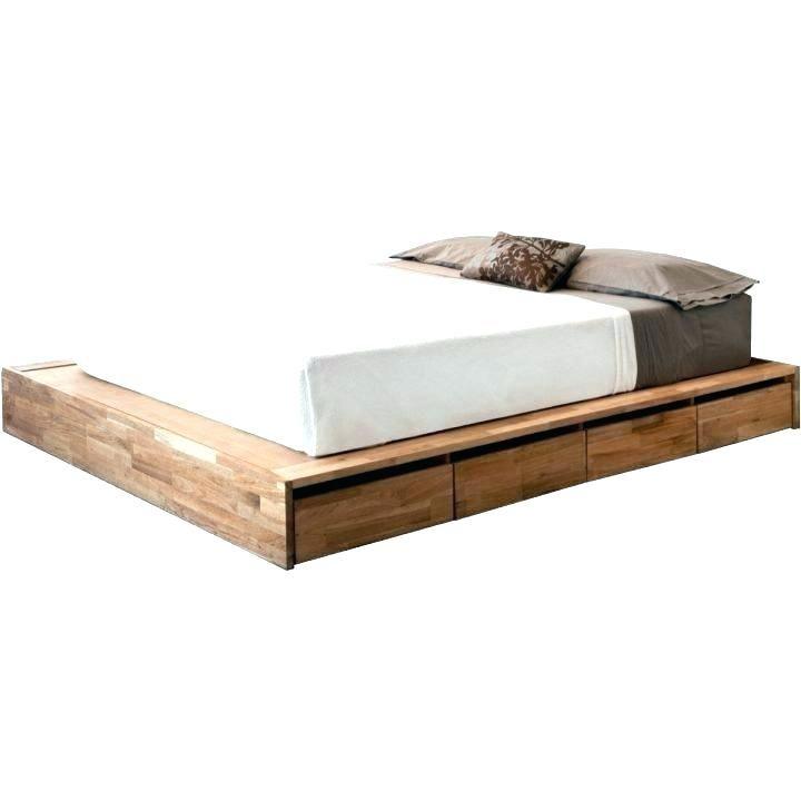 Bedroom Wood Plank Platform Bed Cool Wooden Beds Solid Wood Full