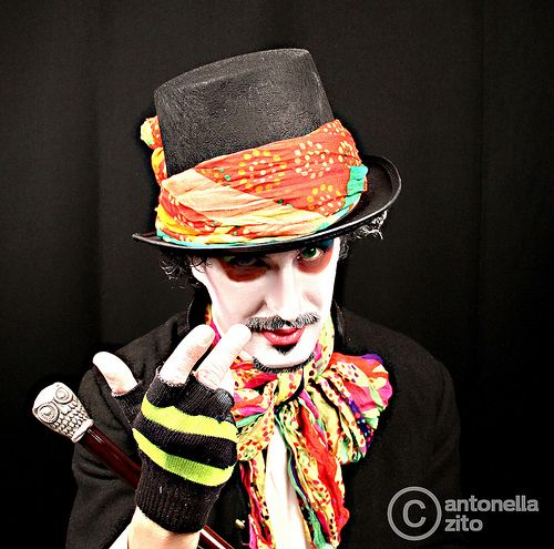 cappellaio matto // mad hatter by Antonella Zito - Reload Factory www.reloadfactory.com