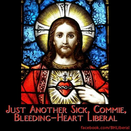 Bleeding heart liberal