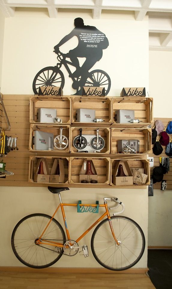 yellow gold fixie bike lether saddle interior storage design