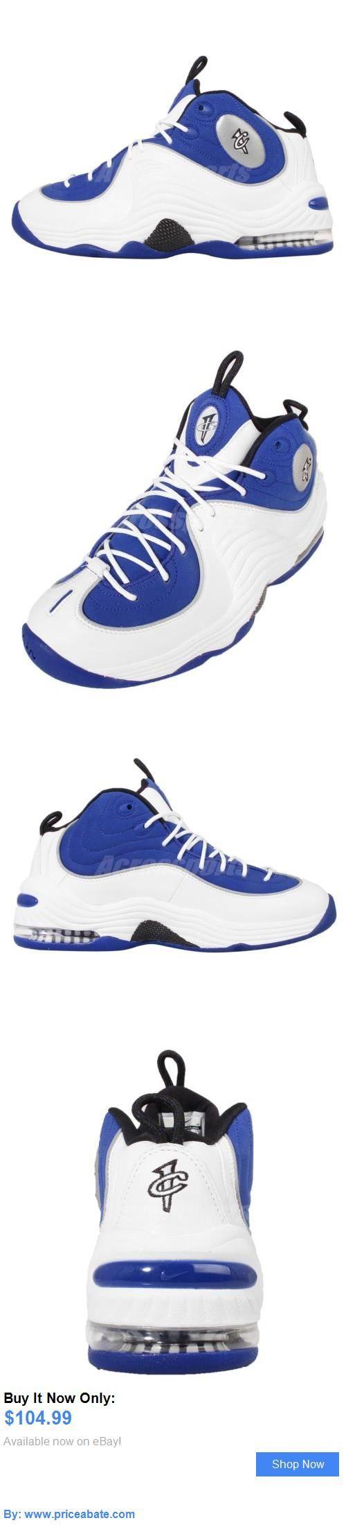 Basketball: Nike Air Penny Ii 2 Atlantic Blue Hardaway Mens Basketball  Shoes 333886-400