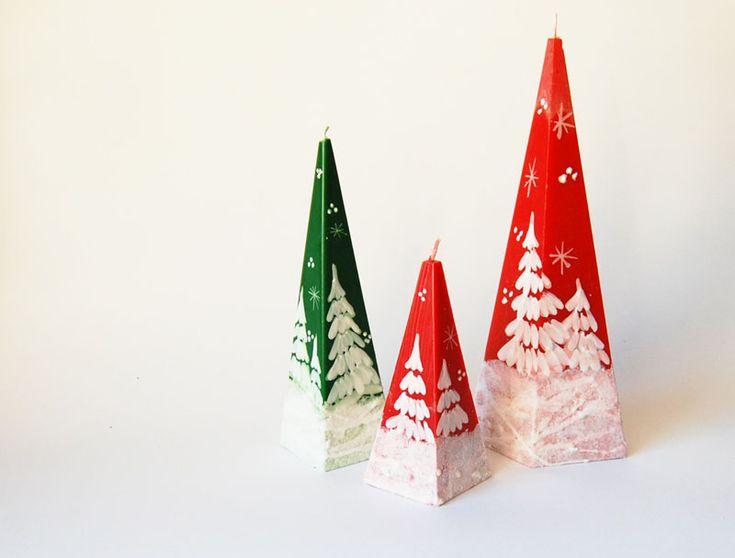 Новый год на Sees-All-Colors: Рождественские свечи Less Candles