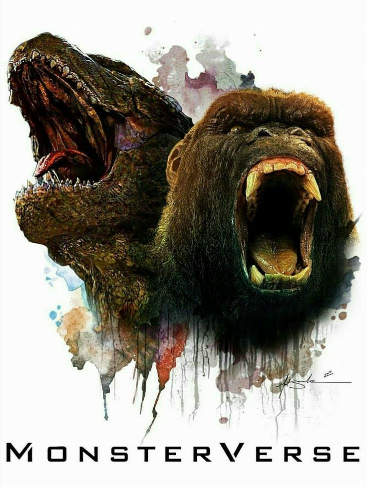Legendary pictures MonsterVerse is here.
