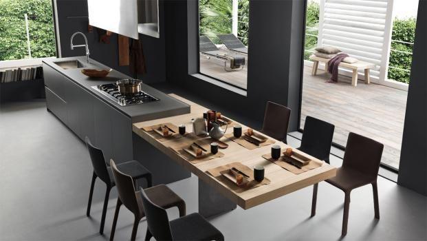 ... di Cucine, bagni e soggiorni moderni MODULNOVA - Progetto 09 - Foto 5
