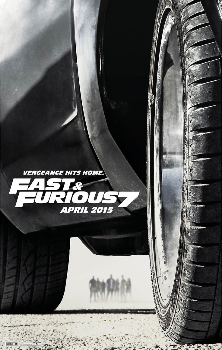 Fast & Furious 7-- APRIL 2015 Deckard Shaw seeks revenge against Dominic Toretto and his crew for the death of his brother.
