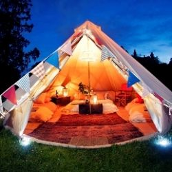 Wedding Planning Hen Party Advice Top 5 Glamping destinations