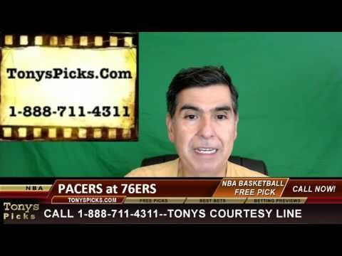 Indiana Pacers vs. Philadelphia 76ers Pick Prediction NBA Pro Basketball...