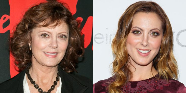 Susan Sarandon and Eva Amurri Martino - Susan Sarandon's daughter certainly did not fall far from the tree—besides inheriting her mother's love of acting, Martino also inherited some damn good genes.