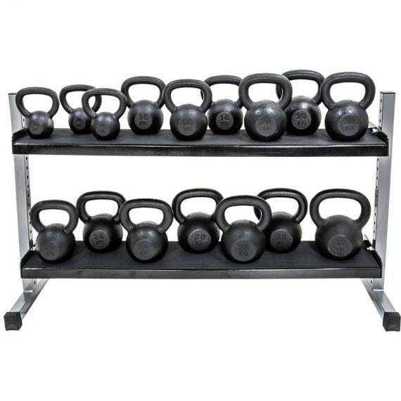 Kettlebell-Rack, 2-stufig  -  in 3 verschiedenen Breiten #hanteln #hanteltraining #training #sport #hantelständer #hantelablage