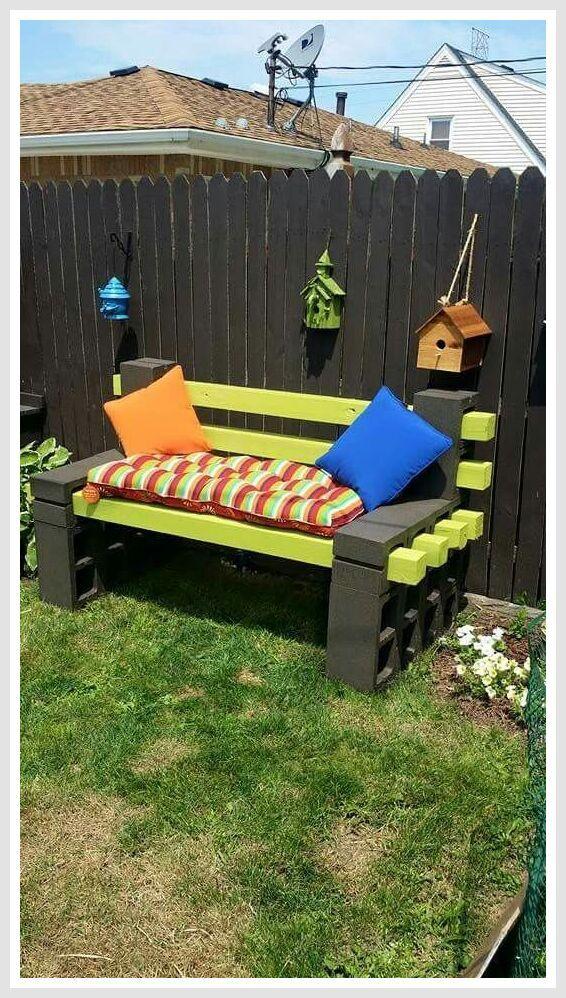 50 Reference Of Bench Cinder Block Garden In 2020 Diy Patio Furniture Diy Bench Outdoor Diy Patio Furniture Cheap