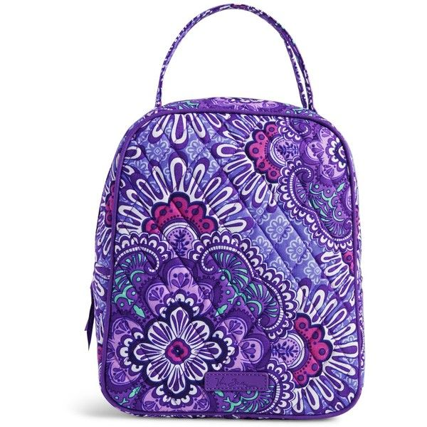 Vera Bradley Lunch Bunch Bag in Lilac Tapestry ($34) ❤ liked on Polyvore featuring home, kitchen & dining, food storage containers, lilac tapestry, vera bradley, lunch thermos and vera bradley bags