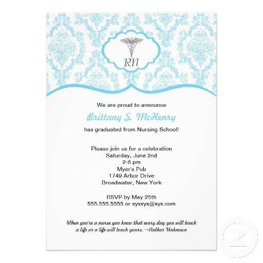 91 best Nurse Graduation Announcements Invitations images on – Nursing School Graduation Invitations