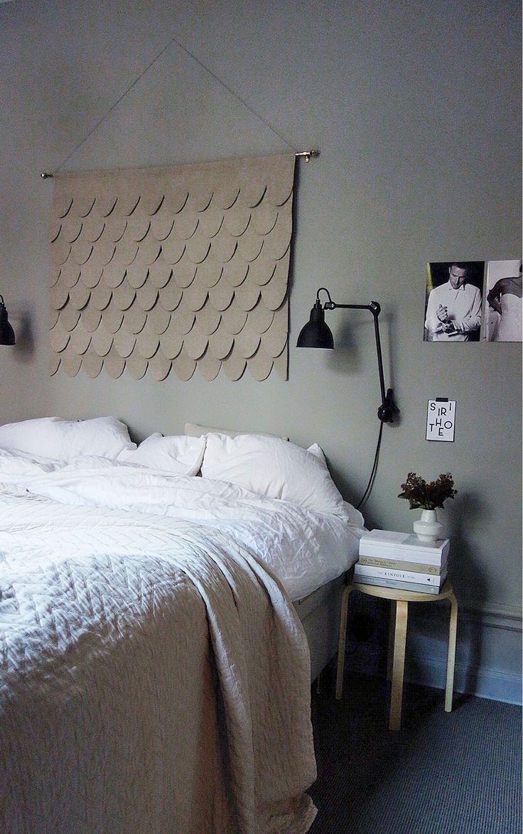 Scallop pattern wallart. By instagram studio.jb.stockholm