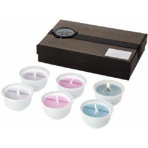 6 Delig Moods kaarsenset zwart,wit 11245800  6-DELIG MOODS KAARSENSET. Deze luxe kaarsenset heeft verschillende geuren voor verschillende stemmingen. D...