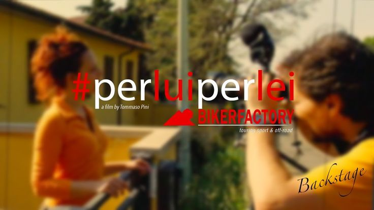 backstage advertising project BIKERFACTORY #perluiperlei © Tommaso Pini