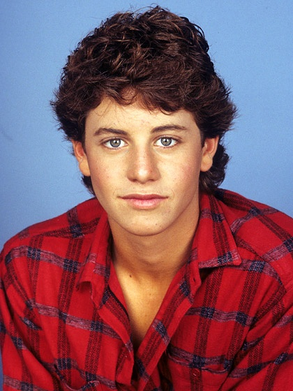 Kirk Cameron=Mike Seaver.  My walls were covered with him, lol
