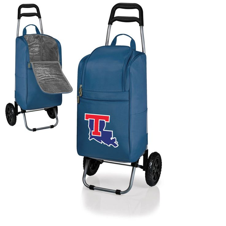 Louisiana Tech Bulldogs Cart Cooler - Navy