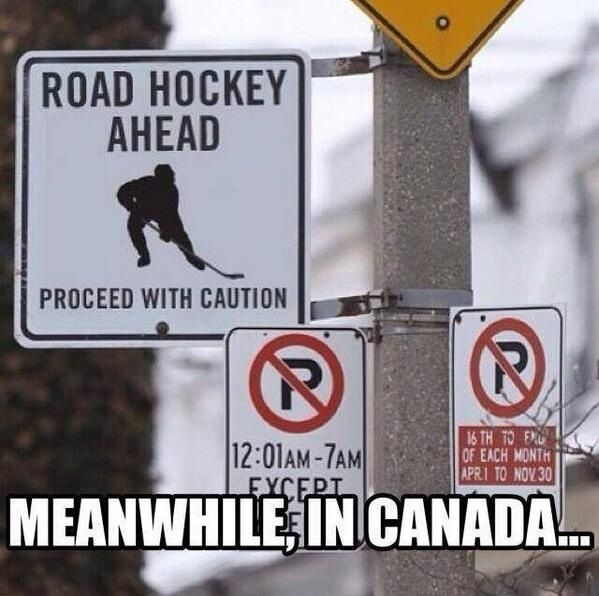 Road Hockey Ahead