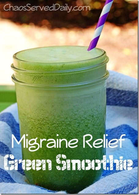 A Migraine Busting Smoothie.