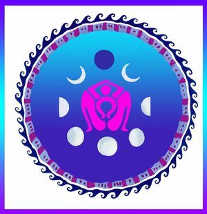 Birthing Goddess / Maria De La Paz / Sacred Geometry <3