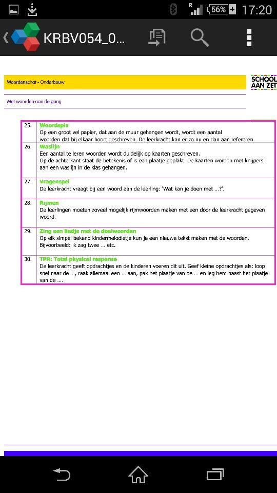 Consolideeroefeningen OB vervolg 2