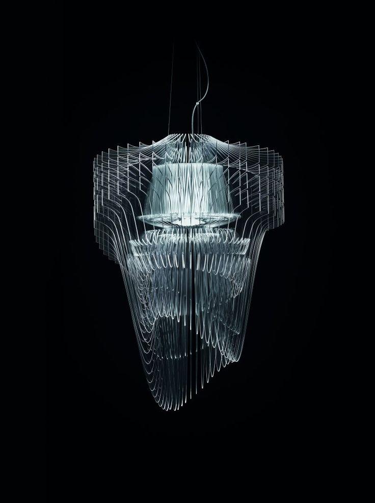 Aria Trasparente Chandelier - Design - Zaha Hadid Architects