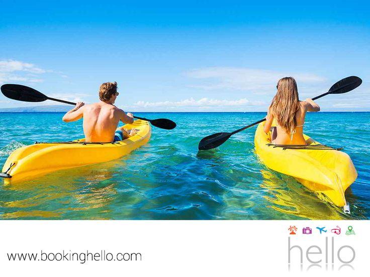 VIAJES DE LUNA DE MIEL. Si buscas una experiencia romántica y al mismo tiempo llena de aventuras para tu luna de miel, Cancún es una gran opción. Podrán elegir entre sus múltiples atractivos turísticos y lanzarse en tirolesa, hacer buceo, snorkeling o un recorrido en kayak; para después regalarse momentos de relajación en las instalaciones de los resorts Catalonia. Anímate a adquirir tu pack all inclusive en Booking Hello, al mejor precio del mercado. www.bookinghello.com