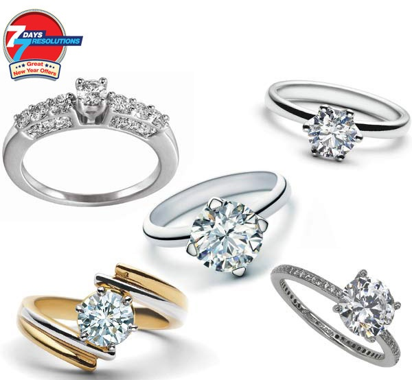 Resolution 7- Pamper yourself!  Avail exclusive 10% off on any diamond jewellery at Kama Jewellery with your HDFC Bank Card.