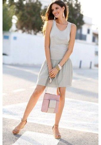 Šaty s mašľou vzadu #modino_sk #Modino_style #dress #sporty #casual #style #fashion #ladies
