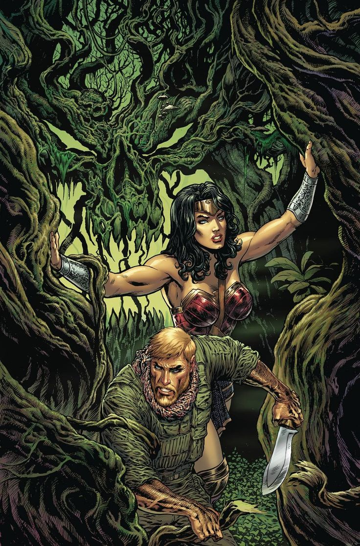 """DC COMICS (W) Greg Rucka (A/CA) Liam Sharp """"The Lies"""" part three! Steve Trevor finds himself trapped in the heart of Urzkartaga's darkness, with Wonder Woman and Cheetah the only hope of rescue for hi"""