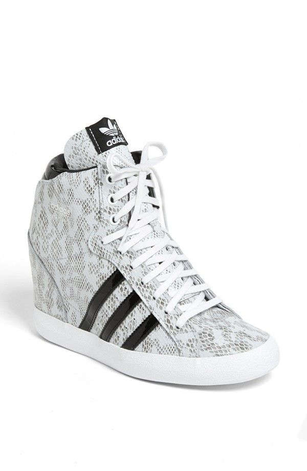Adidas Basket Profi Hidden Wedge Sneaker Women Nordstrom Womens Sneakers Sneakers Wedge Sneakers