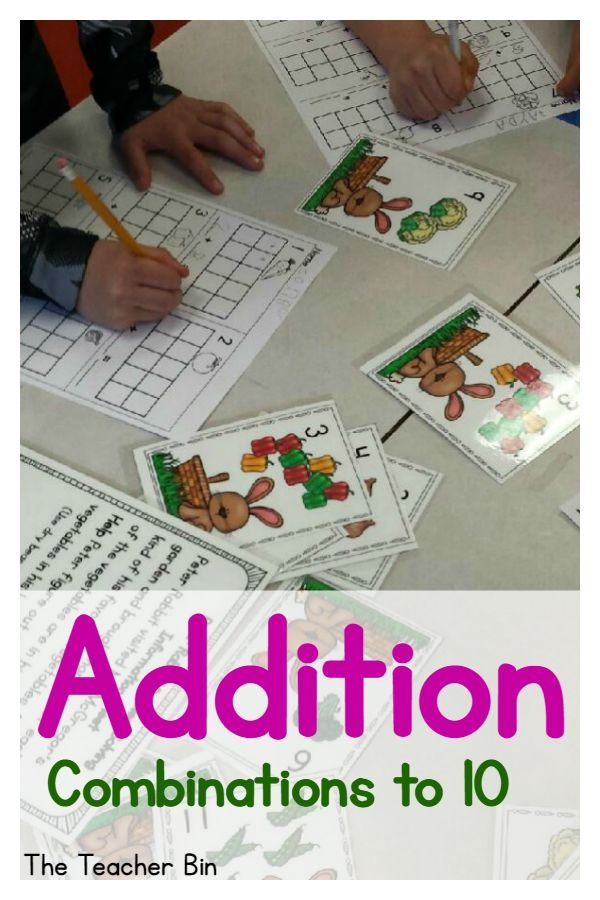 Do you want a fun way to practice number combinations to 10 by using both math and literacy? You will love using the Garden Task Cards to figure out the combinations of 10. The whole class or a small group can work on the problem solving skills using Task Cards. The cute clip art and the books The Tale of Peter By Beatrix Potter or Tops & Bottoms by Janet Stevens add to the excitement of this game.