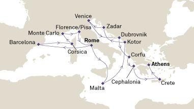 Ofertas de Cruceros por las Islas Griegas 2017-2018 INFO Y RESERVAS EN: http://www.crucerostransamerica.com/