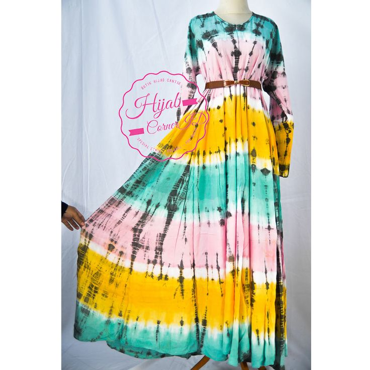 Butik Hijab Corner ID - Tie dye Etnik & Pop Batik di Malang, Jawa Timur