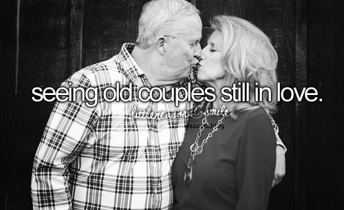 Omg yes old couples are SO cute. Makes me think you can still be in love all these yrs together:)