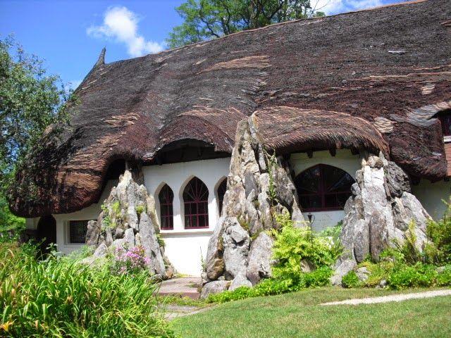 Tyringham MA Santarella The Former Studio Of Sculptor Sir Henry Hudson Kitson Storybook HomesHobbit HousesRoadside