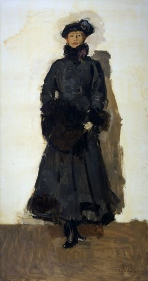 Isaac Israëls (1865-1934) - Mata Hari (1916)