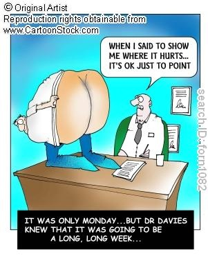 Monday Humor... I wish this weren't true, but I come across this all the time in the medical field