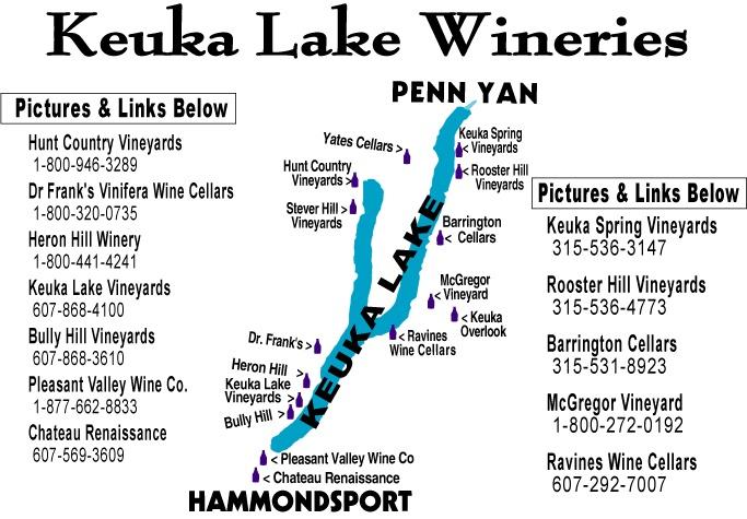 Touring Lake Keuka wineries
