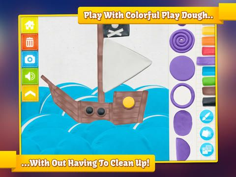 Review & Giveaway: Imagination Box by @Jump App - Use your imagination and create with dozens of play dough shapes!
