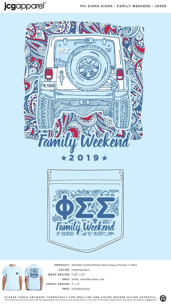 814524f77 Phi Sigma Sigma Family Weekend Shirt | Sorority Family Weekend | Greek  Family Weekend #phisigmasigma #pss #family #weekend #jeep #ha…