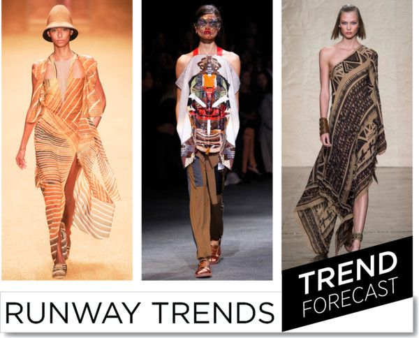 Tribal Trend  for SS2014 http://www.sandrascloset.com/the-most-important-ss-2014-runway-trends/