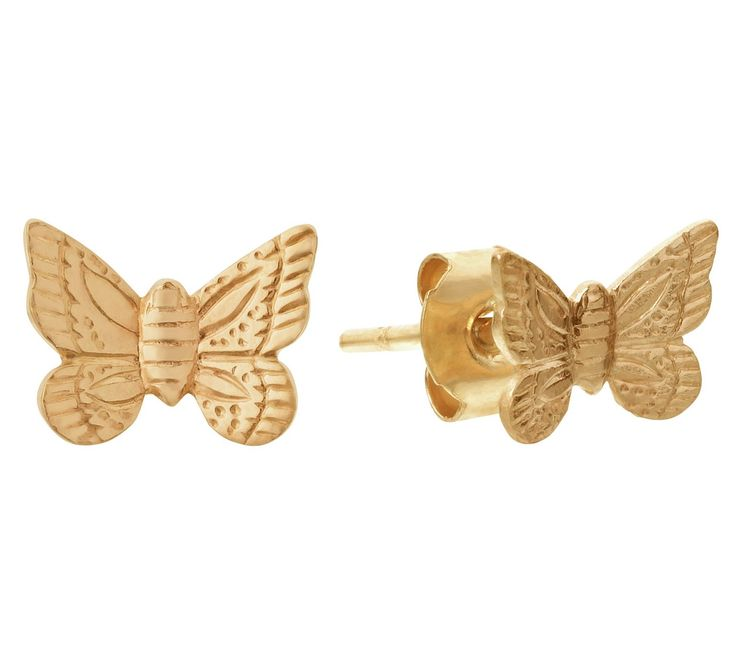 Buy Revere 9ct Gold Butterfly Stud Earrings at Argos.co.uk - Your Online Shop for Ladies' earrings, Ladies' jewellery, Jewellery and watches.