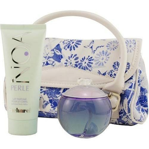 Noa Perle By Cacharel For Women. Set-eau De Parfum Spray 3.4 OZ & Body Lotion 3.4 OZ & Handbag by Cacharel. $89.00. Packaging for this product may vary from that shown in the image above. This item is not for sale in Catalina Island. Launched by the design house of Cacharel.