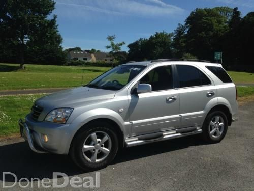 2008 KIA SORENTO AUTOMATIC ,,LOW MILES,, for sale in Dublin on DoneDeal